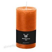 Wiedemann candela moccolo Marble arancione 140/98 mm