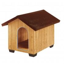 Ferplast domus large cuccia per cani in legno da esterno