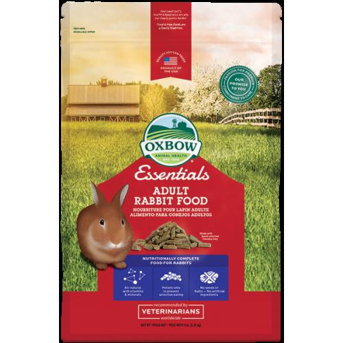 Oxbow essentials adult rabbit food alimento per conigli adulti 4,54 Kg