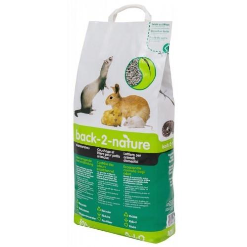 Back-2-Nature lettiera in cellulosa per piccoli animali domestici 30 L