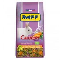 Mangime per conigli Raff carotino flowers 800 grammi