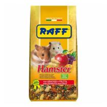 RAFF hamster mangime per criceti con aggiunta di frutta mista 400 g