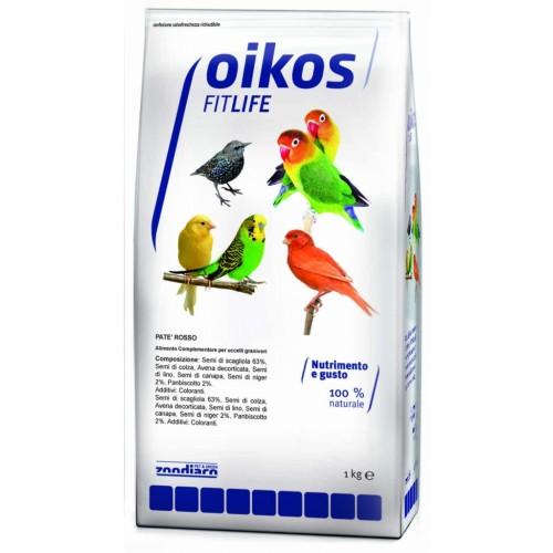 Oikos Fitlife patè pastoncino per uccelli con frutta 1 Kg