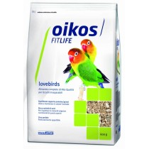 Oikos Fitlife lovebirds mangime per uccelli 600g