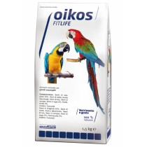 Oikos Fitlife alimento completo per pappagalli 1,5 Kg