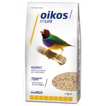 Oikos Fitlife alimento completo per uccelli esotici 1 Kg