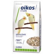 Oikos Fitlife alimento completo per parrocchetti 5 Kg