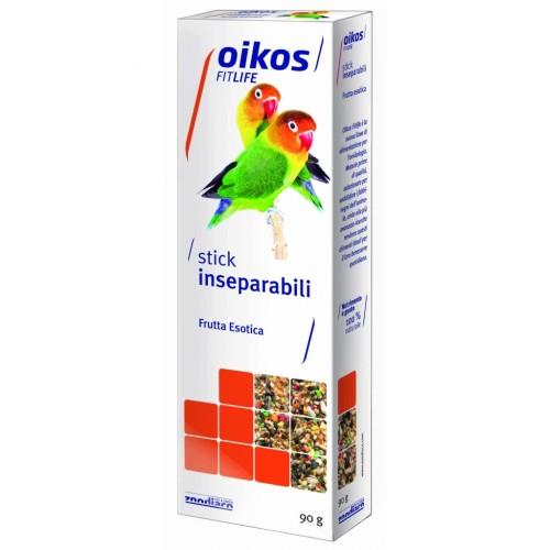 Oikos Fitlife stick frutta esotica per inseparabili 90 g