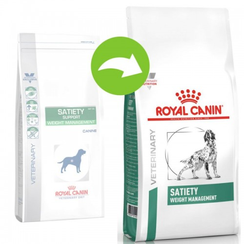 Crocchette per cani Royal Canin veterinary diet  Satiety Weight Management 12 Kg