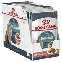 Royal Canin Hairball care in salsa 85 grammi confezione da 12 cibo umido per gatti