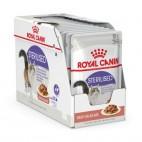 Cibo umido per gatti Royal Canin Sterilised in salsa 85 grammi confezione 12 pz.