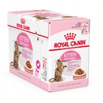 Royal Canin Kitten Sterilised in salsa 85 grammi confezione da 12 cibo umido per gatti