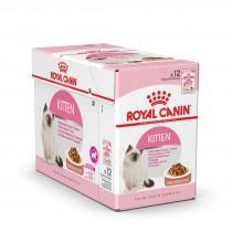 Cibo umido per gatti Royal Canin Kitten in salsa 85 g confezione 12 pz.