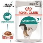 Cibo umido per gatti Royal Canin instinctive 7+ in salsa 85 g confezione 12 pz.