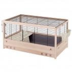 Ferplast Arena 100 gabbia per conigli in legno di pino nordico