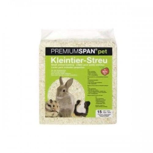 Lettiera truciolo segatura per roditori Sandiman Premiumspan al limone chip 1 Kg