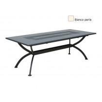 Vermobil tavolo in ferro Valentino allungabile