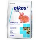 Oikos Rabbit young 600 grammi Alimento completo per conigli