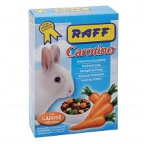 RAFF carotino mangime per conigli nani con aggiunta di carota disidrata 1,5 Kg