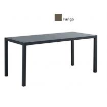 Tavolo da giardino in metallo verniciato Vermobil Quatris QT20080 200x80