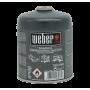 Bomboletta gas butano per barbecue Weber cartuccia a gas 445 g Q1000/100