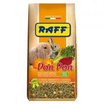 Mangime per conigli Raff pon pon 800 grammi