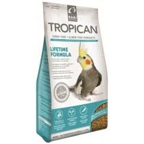 Mangime per pappagalli Tropican Lifetime Cockatiels 820 grammi