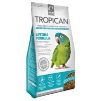 Mangime per pappagalli Tropican Lifetime Conures 820 grammi
