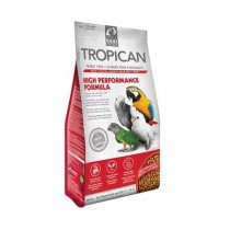 Mangime per pappagalli Tropican High performance 820 grammi