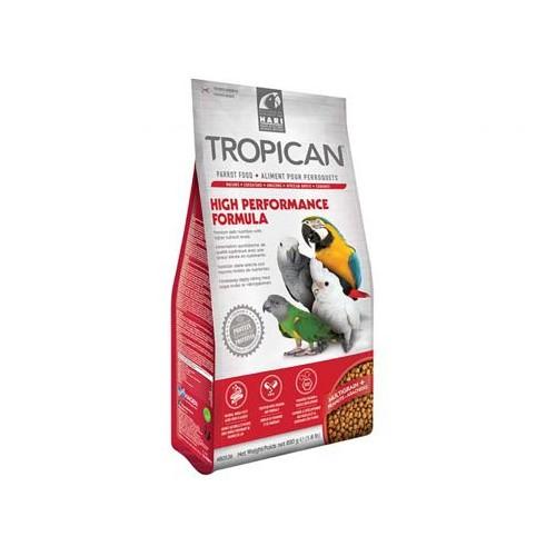 Mangime per pappagalli Tropican High performance 820 grammi