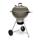 Barbecue a carbone Weber master touch GBS C-5750 Ø 57 cm smoke grey 14710004