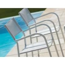 Sedia da giardino con braccioli poltrona Vermobil Alice CH1651