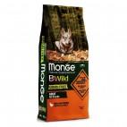 Crocchette per cani Monge grain free anatra e patate 12 Kg