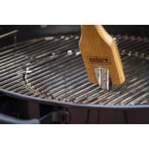 Spazzola per griglia barbecue piccola Weber 6463 in legno di bambù 30,5 cm