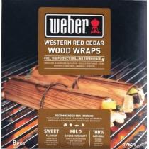Legno per affumicatura Weber wraps cedro rosso 17521