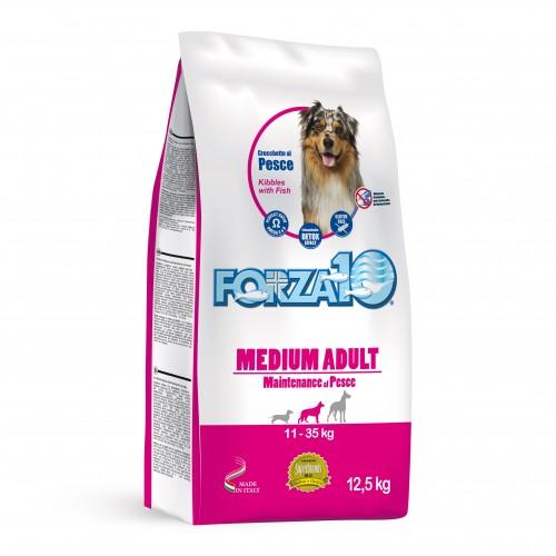 Crocchette per cani Forza 10 medium mantenimento pesce 12,5 Kg