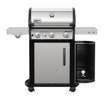Barbecue a gas Weber Spirit Premium SP-335 GBS inox 46802329