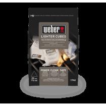 Cubetti accendifuoco barbecue Weber 22 pz. 17945