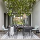 Tavolo da giardino Lafuma LFM 2948_9298 Ancône HPL Minéral 220 x 108 cm