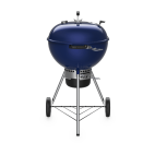 Barbecue a carbone Weber Master Touch C-5750 Special Edition ocean blue 14716053