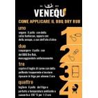 Marinatura a secco barbecue Venequ Dry Rub pesce 150 g