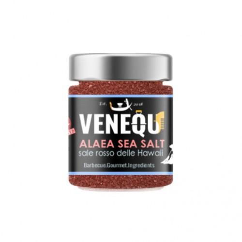 Sale rosso in grani delle Hawaii per barbecue Venequ Alaea Sea Salt 150 g