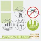 Braccialetto antizanzare repellente limited edition Colpharma