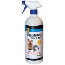 Disabituante per cani e gatti in spray 1 L