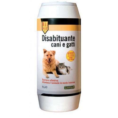 Disabituante per cani e gatti Zoodiaco in granuli 1 litro