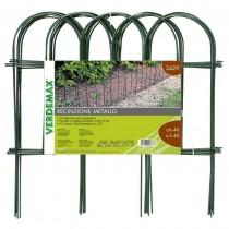 Bordura giardino recinzione ad arco in metallo Verdemax 3429