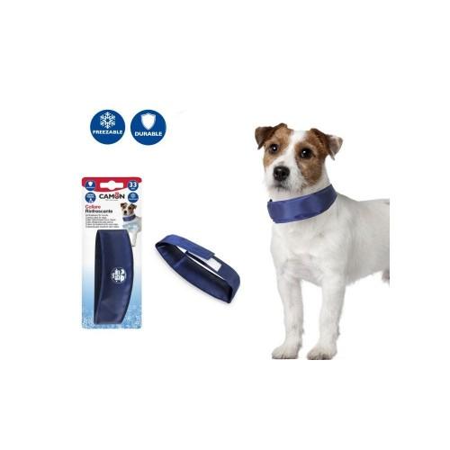 Collare refrigerante per cani Camon blu