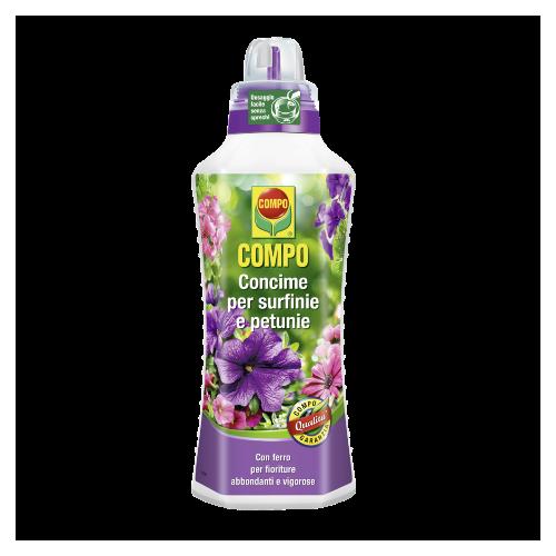 Concime per piante liquido Compo per surfinie e petunie 1 litro