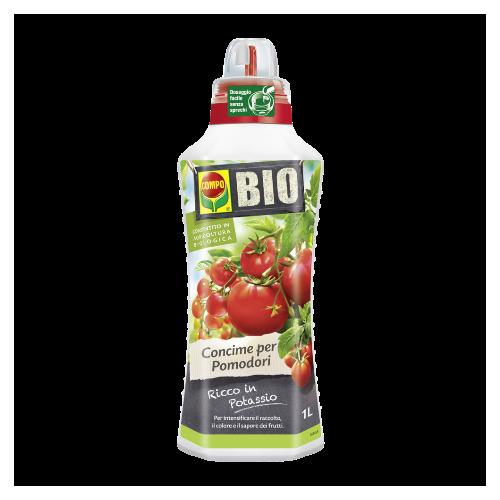 Concime per piante liquido Compo Bio per pomodori 1 litro