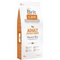 Crocchette per cani Brit Care adult medium agnello e riso 12 Kg